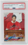 Shohei Ohtani Los Angeles Angels 2018 Topps Opening Day Rookie Baseball Card #200 - Graded Gem Mint 10! (PSA)