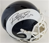 Robert Woods Signed Full Size Replica Los Angeles Rams Speed Helmet (JSA Witness COA)
