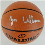 Zion Williamson Full Name Signature Signed Spalding NBA Game Ball Series Basketball (Fanatics Certified)