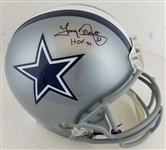 "Tony Dorsett ""HOF 94"" Signed Full Size Replica Dallas Cowboys Helmet (Beckett Witness COA)"