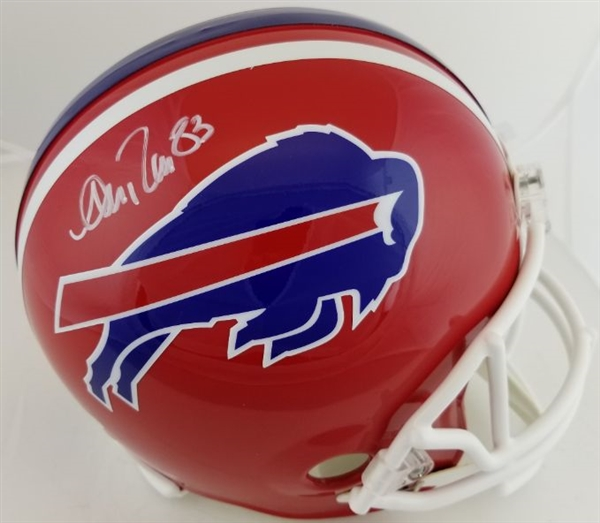 Andre Reed Signed Full Size Replica Buffalo Bills Helmet (Beckett Witness COA)