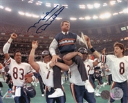 Mike Ditka Signed Chicago Bears Super Bowl XX 8x10 Photo (Schwartz Sports COA)