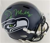 D.K. Metcalf Signed Full Size Replica Seattle Seahawks Helmet (JSA Witness COA)