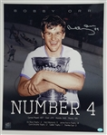 Bobby Orr Signed Boston Bruins 16x20 Photo (SOP & GNR COAs)