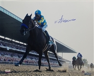 Victor Espinoza Signed Belmont Stakes 16x20 Photo (Steiner Certified)