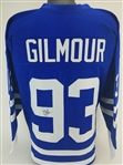 Doug Gilmour Signed Toronto Maple Leafs Custom Jersey (JSA Witness COA)