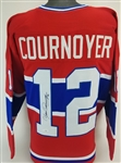 Yvan Cournoyer Signed Montreal Canadiens Custom Jersey (JSA Witness COA)