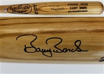 Barry Bonds Signed Louisville Slugger H238 Game Issued Baseball Bat (JSA COA)