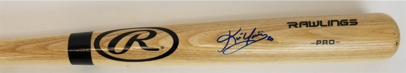 Kevin Youkilis Signed Rawlings Adirondack Big Stick Pro Model Baseball Bat (JSA Witness COA)