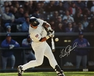 Andres Galarraga Signed Colorado Rockies 16x20 Photo (Radtke Sports COA)