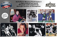 Stacks of Plaques 8x10 Photo Mystery Pack Series 2 - Mickey Mantle, Walter Payton, Bill Russell, Pele & More! Limited to 50!