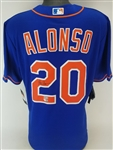 Pete Alonso Signed New York Mets Nike MLB Replica Jersey (MLB & Fanatics Certified)