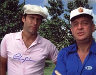 Chevy Chase Signed Caddyshack 11x14 Photo (Beckett Witness COA)