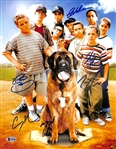 The Sandlot Cast Signed 11x14 Photo w/ 6 Sigs - Smalls, Squints, Ya-Ya, Tommy, Timmy, DeNunez (Beckett Witness COA)