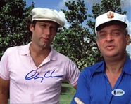 Chevy Chase Signed Caddyshack 8x10 Photo (Beckett Witness COA)