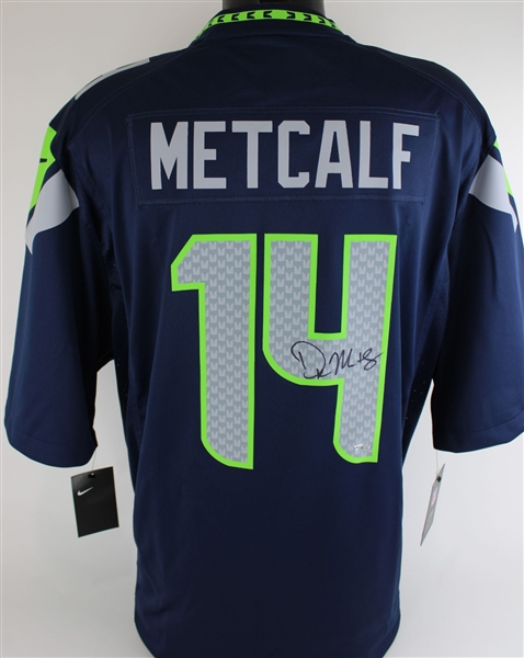 D.K. Metcalf Signed Seattle Seahawks Nike NFL Replica Game Jersey (Fanatics Certified)