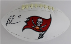 Mike Evans Signed Tampa Bay Buccaneers Logo Football (Radtke Sports COA)