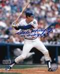 "Dale Murphy ""NL MVP 82, 83"" Signed Atlanta Braves 8x10 Photo (Radtke Sports COA)"