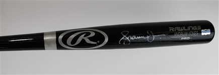 Andruw Jones Signed Rawlings Pro Model Baseball Bat (Radtke Sports COA)