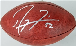 "Ray Lewis Signed Official Wilson NFL ""The Duke"" Game Football (PSA/DNA ITP COA)"