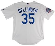 Cody Bellinger Signed Los Angeles Dodgers Majestic MLB CoolBase Jersey w/ 60th Anniversary (1958-2018) Patch (MLB & Fanatics Certified)
