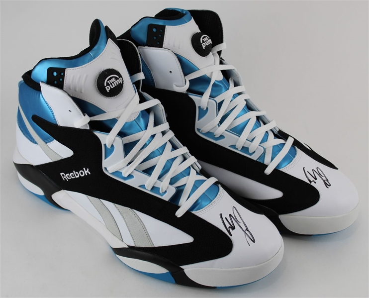 Shaquille ONeal Signed Size 22 Reebok Shaq Attaq Orlando Basketball Shoes (Fanatics Certified)