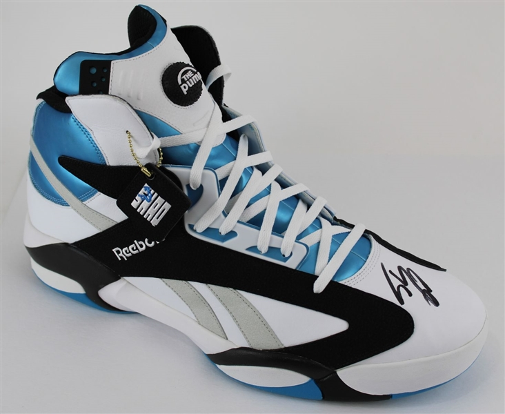 Shaquille ONeal Signed Size 22 Reebok Shaq Attaq Orlando Basketball Shoe - Right Foot (Fanatics Certified)