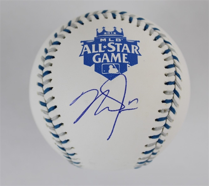 Mike Trout Signed Official 2012 All-Star Game Baseball - Trouts First All-Star Game Appearance (MLB Certified)