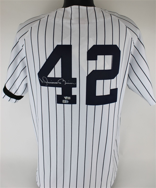 Mariano Rivera Signed New York Yankees Mitchell & Ness Cooperstown Collection 1995 Home Jersey (MLB & Fanatics Certified)