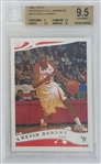 Kevin Durant 2006 Topps McDonalds All-American Pre-Rookie Basketball Card #B19 - Graded Gem Mint 9.5! (BGS)