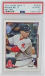 Mookie Betts Boston Red Sox 2014 Topps Update Rookie Baseball Card #US26 - Graded Gem Mint 10! (PSA)