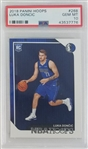 Luka Doncic Dallas Mavericks 2018 Panini Hoops Rookie Basketball Card #268 - Graded Gem Mint 10! (PSA)