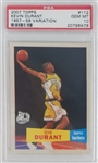 Kevin Durant Seattle Supersonics 2007 Topps 57 Variation Rookie Basketball Card #112 - Graded Gem Mint 10! (PSA)