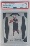 Bam Adebayo Miami Heat 2017 Panini Prizm Rookie Basketball Card #51 - Graded Gem Mint 10! (PSA)