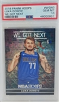 Luka Doncic Dallas Mavericks 2018 Panini Hoops We Got Next Rookie Basketball Card #WGN3 - Graded Gem Mint 10! (PSA)