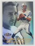 Peyton Manning Indianapolis Colts 1998 Flair Showcase Showtime Rookie Football Card