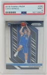 Luka Doncic Dallas Mavericks 2018 Panini Prizm Rookie Basketball Card #280 - Graded Mint 9 (PSA)
