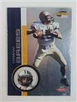Drew Brees San Diego Chargers 2001 Pacific Invincible Rookie Football Card #289