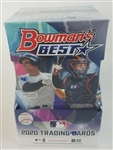 Sealed 2020 Bowmans Best Baseball Card Hobby Box - Possible Luis Robert and Bo Bichette Rookies!
