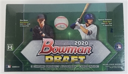 Sealed 2020 Bowman Draft Baseball Card Jumbo Hobby Box - Possible Spencer Torkelson 1st Bowman Cards!