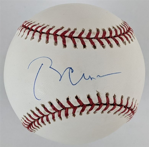 Bill Clinton Signed OML Baseball (PSA/DNA LOA)