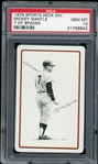 Mickey Mantle 1978 Sports Deck Division 7 of Spades Playing Card - Graded Gem Mint 10! (PSA)