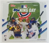 Sealed 2021 Topps Opening Day Baseball Card Hobby Box - Possible Jo Adell and Dylan Carlson Rookies!