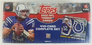 Sealed 2012 Topps Football Factory Set - Russell Wilson Rookie!