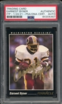 Earnest Byner Signed 1993 Score Football Card #328 (PSA/DNA ITP Encapsulated)