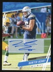 Hunter Henry 2020 Prestige Xtra Points Gold Lmt. Ed. Autographed Football Card - #5 of 10!