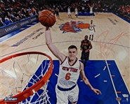 Kristaps Porzingis Signed New York Knicks 16x20 Photo (Fanatics Certified)